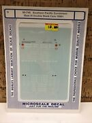 Microscale Decal N Scale 60-745southern Pacific Gunderson Maxi Iii Double Stack