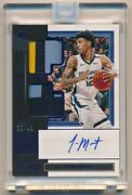 Ja Morant 2019/20 Panini One And One Rc Autograph Dual 3 Color Patch Auto 35/49