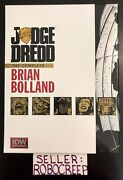 Judge Dredd Complete Brian Bolland Idw Limited Red Label 177/350 Signed 2012
