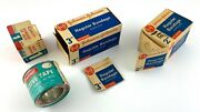 Vintage Johnson And Johnson Medical First Aid Supplies Lot Of Empty Boxes Jandj U380
