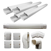 Decorative Pvc Line Cover Kit For Mini Split Air Conditioners And Heat Pumps