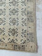 Gorgeous Antique 1890and039s Turkish Oushak Rug Soft And Pretty Neutral Colors