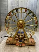 Mr Christmas Gold Label World's Fair Ferris Wheel Ride W/lights And 30 Songs
