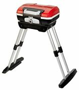Cuisinart Cgg180 Cgg-180 Petit Gourmet Gas Grill With Versastand Red 31.5 H X