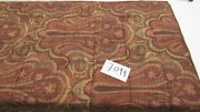 """1680 Etro Italy """"home Collection"""" Throw Blanket / Wine And Green Paisley"""