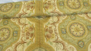 3480 Etro Italy Andldquohome Collectionandrdquo King Size Comforter / Yellow Victorian Style