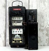 Vintage Electricity Meter Prepayment Coin Money Operated Electric Emetco