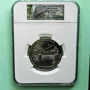 2011 Chickasaw Atb 5 Oz Silver 25 C Ngc Early Releases Ms 69 Dpl