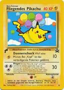 Flying Pikachu -25- Pokemon World Collection German Tail Stamp New 2b3