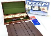 Vintage Cardinal Rummy-o Game Complete In Carry Case Rummy Tiles Rummikub