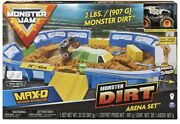 Monster Jam, Monster Dirt Arena 24-inch Playset With 2lbs Of Monster Dirt Nib
