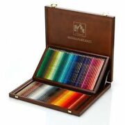 Caran Dand039ache Supracolor Artist Water Soluble 80 Colour Pencils Wooden Gift Box