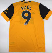 Wolverhampton Home Jersey Adidas Gold 2020/21 Raul 9 S-xl New With Tags