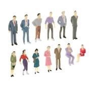 13pcs 150 Scale Architecture Model Train Painted Figures People