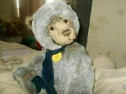 Bobsleigh Charlie Bear With Tags On In Top Conditionandnbsp Wears A Scarf. Xmas Bear