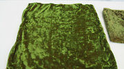 950 Etro Italy Home Collection Decorative Pillow Set X2 /green Gold Viscose
