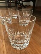 Set Of 6 Baccarat Piccadilly Crystal Old Fashioned Glasses