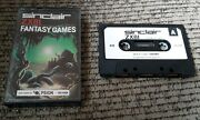 Timex Ts1000/sinclair Zx81 Computer Software Tape Fantasy Games Island/swamp