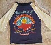 Farewell To A Texas Summer 1979 Festival Concert Jersey Large Rush Foghat Pat