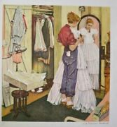 Before The Dance - Norman Rockwell - Numbered Ltd Ed Lithograph - Mint Condition