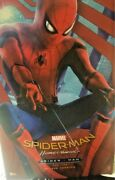 Hot Toys Movie Masterpiece Spider Man Homecoming Figure Deluxe Version 1/6 Scale