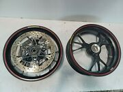 12-20 Ducati Panigale V4 V4s 1199 1299 Marchesini Forged Front Rear Wheels Rims