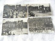 World War I-july 1919 Paris Victory Parade-4-real Photo Postcards Of Troops