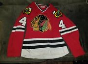 1970and039s Chicago Blackhawks Gunzoand039s Durene Bobby Orr Signed Autographed Jersey