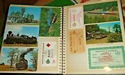 1900and039s-1980and039s Railroad Scrapbook