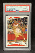 2006 - 2007 Topps Mcdonalds All American B19 Kevin Durant Rc Psa 10 Rookie Card