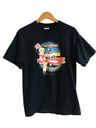 Betty Boop Betty's Diner Vintage Y2k 2000 Large Black T Shirt
