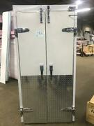 """Walk In Freezer French Style Door 36""""x 78 """" Prehung With Frame"""