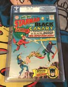 Brave And The Bold 62 Pgx Not Cgc 8.5 1st App Wildcat Huntress Starman Canary