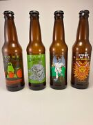 Rare Stone Brewing Collectible Beer Bottles Empty Ipa Guest Artist Series Lot