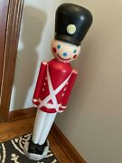 Toy Soldier Blow Mold Christmas