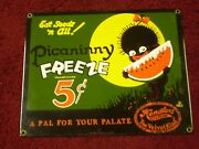 Ande Rooney Picaninny Freeze Porcelain Sign