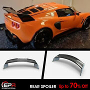 Exg Style Carbon And Frp Rear Spoiler Wing For Lotus Elise/exige S2 Body Kit