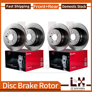 Front Brembo Rear Coated Oe Brake Rotors For Land Rover Range Rover 2005-2003