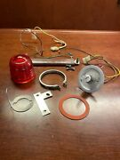 Cessna Rotating Beacon Assy P/n C621001-0102 24v With Resistor And Bulb