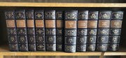 Easton Press 11 Vol Oxford Desk Reference Set Dictionary Companion Thesaurus Cl
