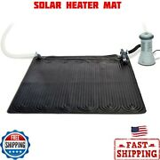 Solar Heater Mat For Above Ground Swimming Pool, 47in X 47in -new -free Shipping