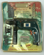 Vintage Hy 22 Piece 1/2andrdquo 950w Electric Hammer Drill Kit Model Hy-288-b - Nos
