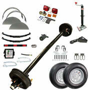 5200 Lb Tk Single Axle Trailer Parts Kit - 5.2k Capacity Hd Complete Original S