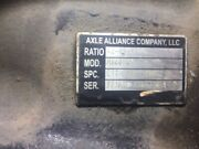 Alliance Art400 Front Diff Tag 3.23 Ratio 12885 Differential Front