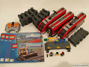 Lego City 7938 Passenger Train 9v Power Funct W/tracks All Pieces Most Stickers