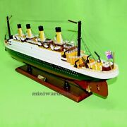 Rms Titanic 32 1/330 Scale Handcrafted Cruise Ship Model Nautical Decor New
