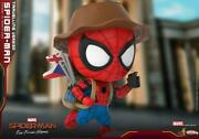 Hot Toys Cosb672 Cosbaby Spider-man Travelling Ver. Bobble-head Doll Model Toy