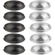 Kitchen Cabinet Pulls - 3 Inch Hole Center Bin Cup Drawer Handles 25/50 Pack Or