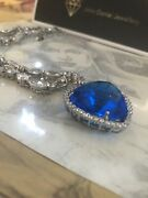 Smaller Titanic Heart Of The Ocean Necklace