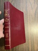 Niv 1978 Pre 1984 Large Print Thompson Chain Reference Bible - Bonded Leather